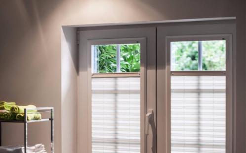 de latende van weru is een uniek raamdecoratieproduct dat speciaal is ontwikkeld voor kunststof kozijnen het gordijn is gentegreerd in het een aluminium